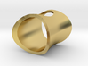 Wormhole Ring 3d printed