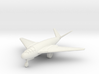 (1:144) Messerschmitt Me P.1107/II (Gear down) 3d printed