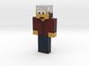 2DA99E0E-3340-42B2-B216-EF793F93A00B | Minecraft t 3d printed