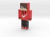 RED_DARK | Minecraft toy 3d printed