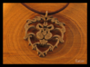 Alliance Medallion 3d printed Closeup