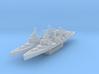 HMS Belfast (Axis & Allies) 3d printed