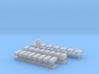 1:200 Scale Aircraft Carrier Hangar Deck Equipment 3d printed