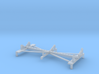 1/100 DKM Scharnhorst funnel assembly/boat racks m 3d printed