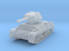 P-40 Heavy Tank 1/285 3d printed