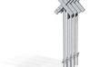 croix de st andré Simple SNCB MNSB epoque 5 4 piec 3d printed
