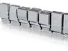1/160 Humvee set of 7 simple models 3d printed