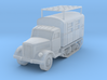 Opel Maultier Radio Truck scale 1/285 3d printed