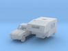 Peugeot 504 Pick-up avec cellule camper (TT 1:120) 3d printed