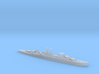 HMS Surrey 1:1800 WW2 proposed cruiser 3d printed