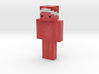 SporkyPine | Minecraft toy 3d printed