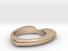Heart ring (several materials and sizes) 3d printed