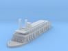 1/1000 USS Rattler 3d printed