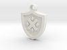 Frollo Coat of Arms pendant 3d printed