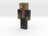 FrankenZombie | Minecraft toy 3d printed