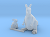 S Scale Koala Bear  and Kangaroo 3d printed This is a render not a picture