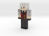 GrimHero | Minecraft toy 3d printed