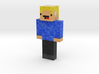 Potatoster | Minecraft toy 3d printed