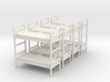 Bunk bed 01. 1:72 Scale  3d printed