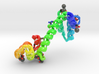Calmodulin Complexed with Pb 3d printed