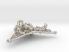 Triangle Bone Pendant 3d printed