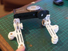 Hinged Camera Mount 3d printed Slightly rearward