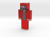Ell_44 with Jacket Skin | Minecraft toy 3d printed