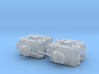 British Coventry Amoured Car Mk. II 1/285 6mm 3d printed