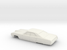 1/64 1968 Pontiac Bonneville Sedan Shell 3d printed