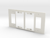 Philips Switch Decora Double Plate (Set of 2) 3d printed