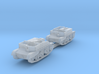 Scout and Bren Carrier 1:200 3d printed
