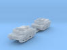 Scout and Bren Carrier 1:285 3d printed