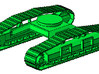 1/87th Forestry Undercarriage for Heavy Equipment 3d printed
