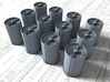 1/35 Royal Navy MKVII Depth Charges x12 3d printed 1/35 Royal Navy MKVII Depth Charges x12