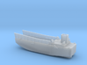 LCM3 Landing Craft Scale 1:200 With No Ramp 3d printed