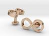 Infinity Wedding Cufflinks 3d printed