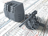 "1/56 RN 4"" MKV P Class Gun B Mount Closed Ports 3d printed 3d render showing product detail"
