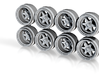 Chevlon S1 8-6 Hot Wheels Rims 3d printed