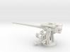1/56 IJN Type 10 120mm Dual Purpose Gun 3d printed