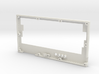 ZX-KEY Keyboard Case 'Top Plate' 3d printed