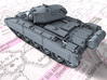 1/144 British Crusader Mk II Medium Tank 3d printed 1/144 British Crusader Mk II Medium Tank