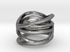 Strands Ring Size 8 3d printed