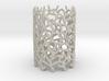 Coraline S. Tealight White Sandstone 3d printed