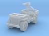 Jeep Willys 30 cal (window down) 1/160 3d printed