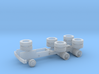 1988 GMC General Tractor Frame Only 1-87 HO Scal 3d printed