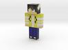 MysticFoxyGamer | Minecraft toy 3d printed