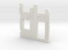 Building wall ruins 1/87 3d printed