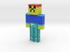 myskin | Minecraft toy 3d printed