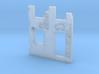 Building wall ruins 1/160 3d printed