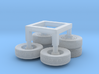 1/160 Generic Wheel Sets 3d printed